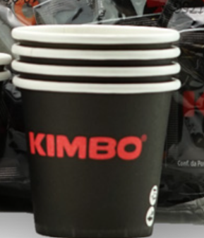Kimbo 1000 Pappbecher 120 ml