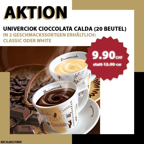 Univerciok Cioccolata Calda White