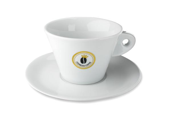 L'Espresso Coffe Riesen Tasse - Zuckerschale