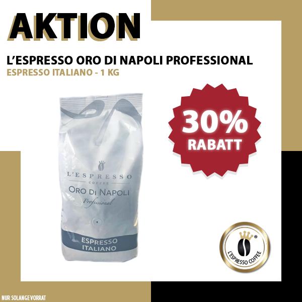 L'Espresso Oro di Napoli Professional 1kg