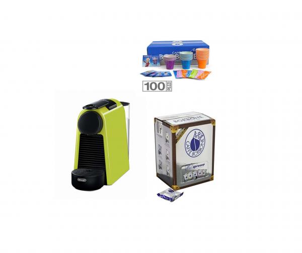 De Longhi Essenza inkl. 50 REspresso Blu Kapseln und Kit 100