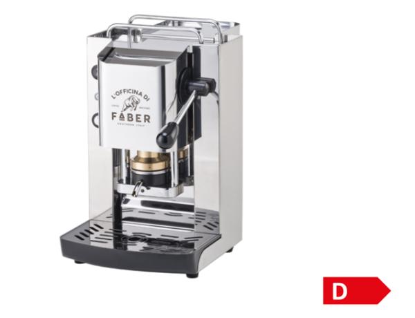Faber Pads-Kaffeemaschine – Pro Total Inox