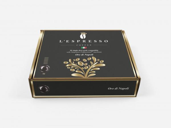 L'ESPRESSO Oro di Napoli Nespresso® komp* Business - 50er Pack