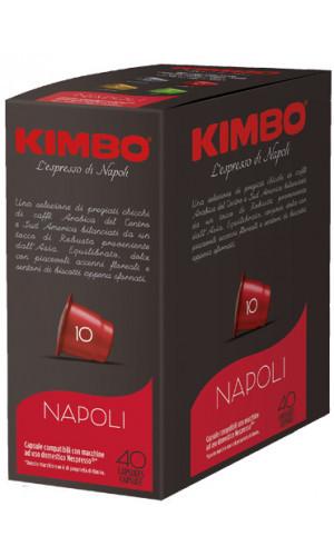 KIMBO Napoli Nespresso® komp* - 40er Pack