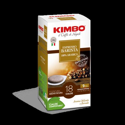 KIMBO Pads Espresso 100% Arabica - 18er Pack
