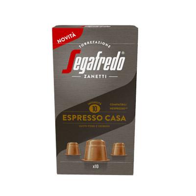 Segafredo Espresso Casa Nespresso® komp* 10er Pack