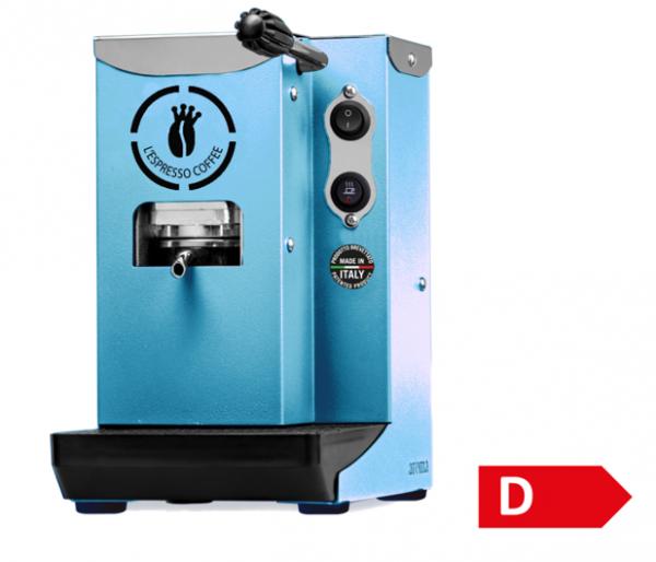 Kaffeemaschine La Piccola und 150 Pads Crema e Gusto