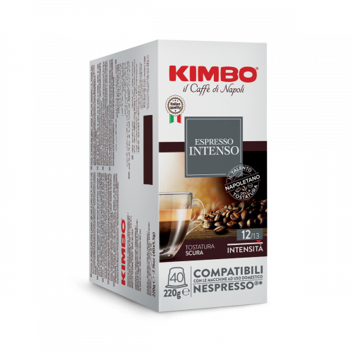 KIMBO Intenso Nespresso® komp* - 40er Pack