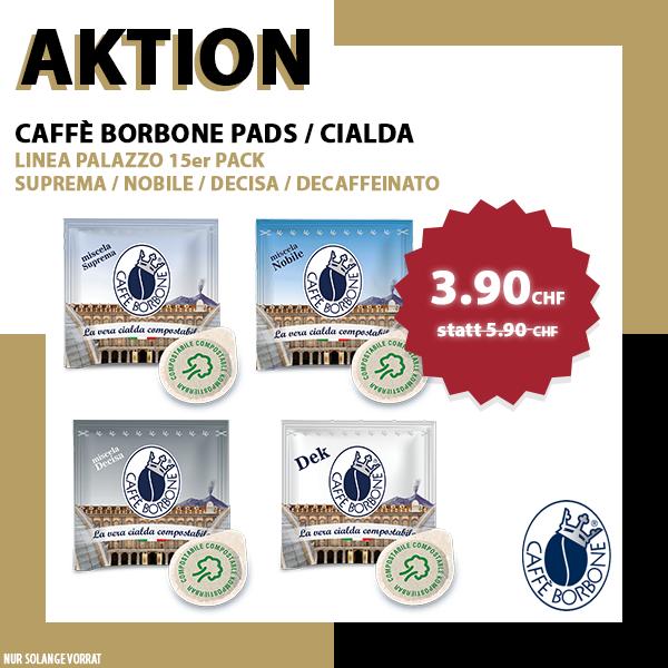 Borbone Linea Palazzo PADS - 15er Pack