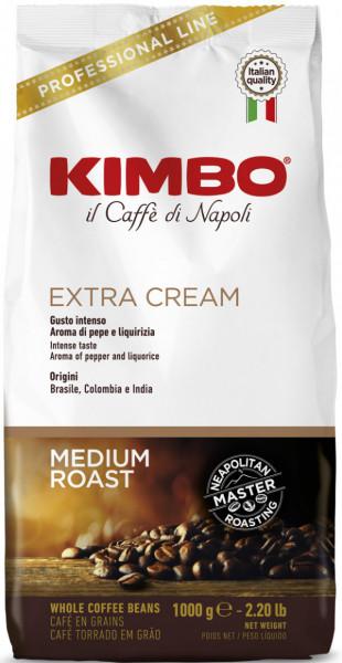 KIMBO Extra Cream Bohnen 1kg
