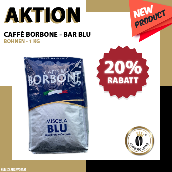 Caffè Borbone Professionale BLU - 1Kg
