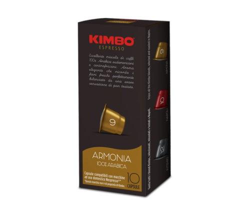 KIMBO Nespresso Armonia 100% Arabica 10er Pack
