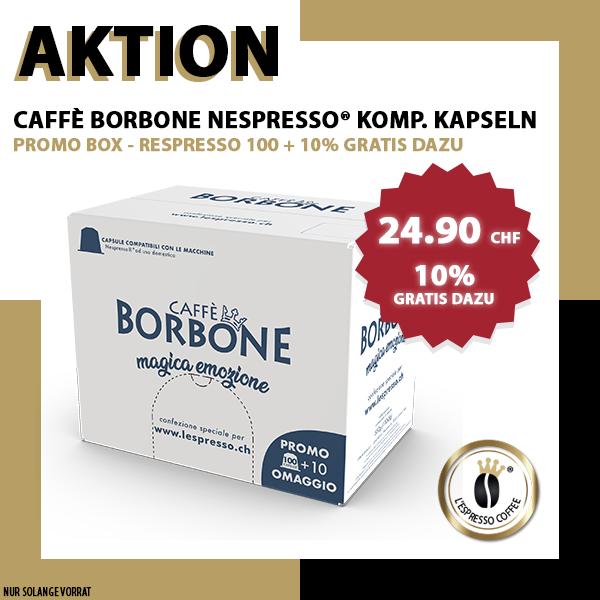 PROMOBOX - Borbone Respresso Nespresso® komp* - 100er Pack