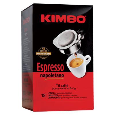 KIMBO Pads Espresso Napoletano - 18er Pack
