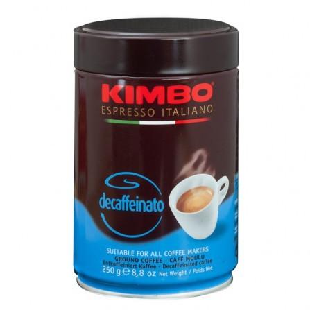 KIMBO Decafeinato gemahlen 250g