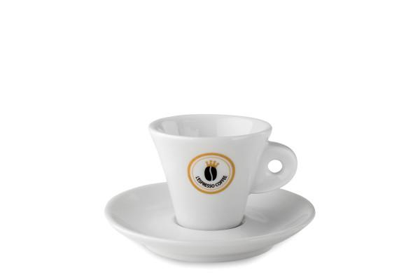 L'Espresso Coffee Espresso Tassen - 6 Stk.