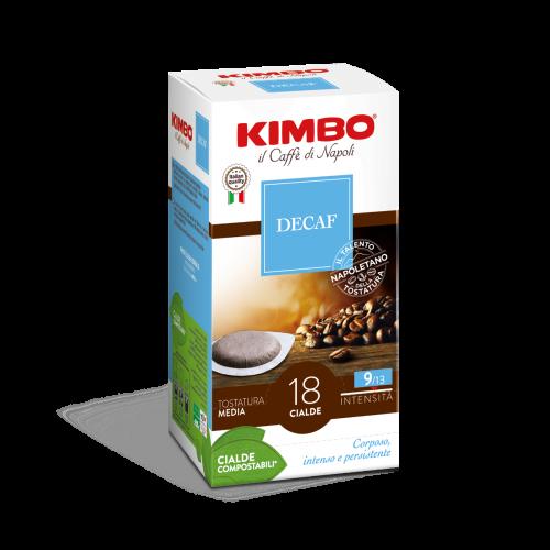 KIMBO Pads Espresso Decaffeinato - 18er Pack
