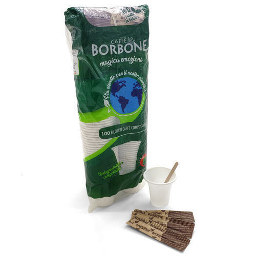 Borbone ESPRESSO - KIT 100 Compostabili