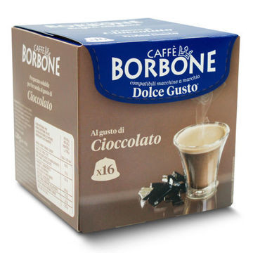 Borbone Cioccolato Dolce Gusto Komp - 4x16er Pack
