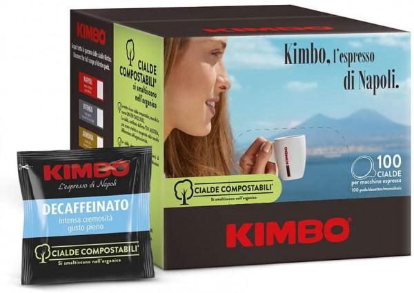 KIMBO Pads Espresso Decaffeinato - 100er Pack
