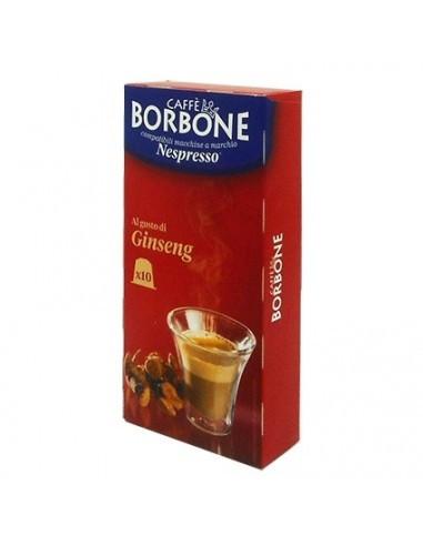 Borbone Ginseng Nespresso® komp* - 10er Pack