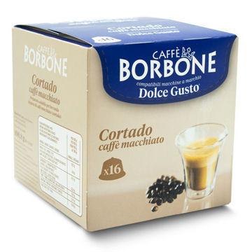 Borbone Cortado Caffè macchiato Dolce Gusto® komp*- 16er Pack