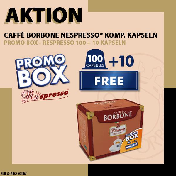 PROMOBOX - Borbone Respresso BLU Nespresso® komp* - 100er Pack
