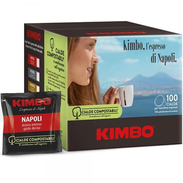 KIMBO Pads Espresso Napoletano - 100er Pack